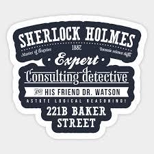 Sherlock Holmes Sherlock Sticker Teepublic Au