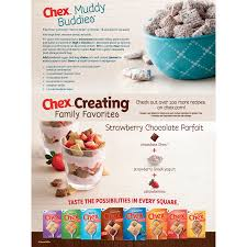 general mills chex breakfast cereal
