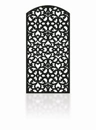 Metal Fence Decorative Panels Laser Cut Art