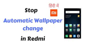 mi lock screen wallpaper auto change
