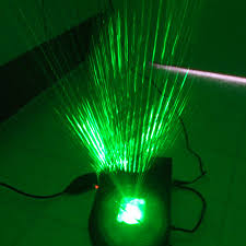 syncing green laser projector