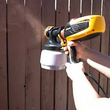 How To Stain A Fence With A Wagner Flexio Paint Sprayer In 2020 Paint Sprayer Fence Stain Fence Paint