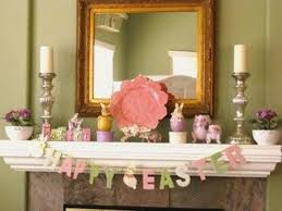 20 easter fireplace mantel decorations
