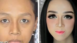yuk til cantik dengan makeup barbie