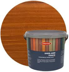 Shed Fence Stain Larch Protek Wood Stain