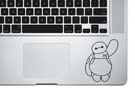 Disney Baymax Big Hero 6 Decal Vinyl Sticker Macbook Decal Etsy
