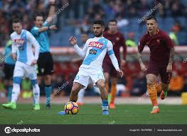 Serie A League partita As Roma vs Napoli — Foto Editoriale Stock ...