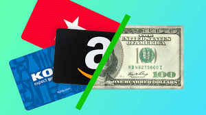 cash or credit for your unwanted gift cards