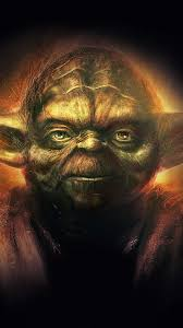 yoda starwars art dark ill film poster