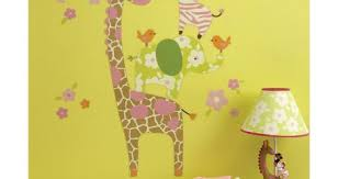 Jungle Leaves Wall Decals Baby Animal For Nursery Plants Art Mural Book Etsy Vamosrayos
