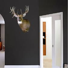 Deer Head Wall Mural Decal Animal Wall Decal Murals Primedecals