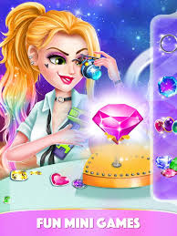 games dress up hair salon on the