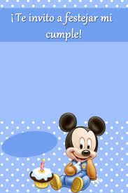 La Super Mamy Semana De Cumples Mickey Mouse Bebe