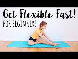stretches for the inflexible beginner