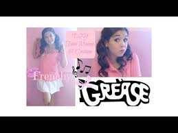 frenchy grease diy costume