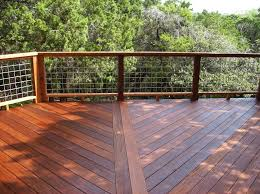 Simple But Saftey Hog Wire Deck Railing Oscarsplace Furniture Ideas