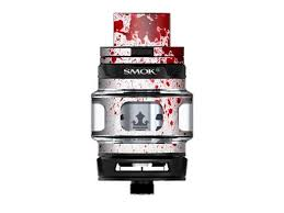 Skin Decal Vinyl Wrap For Smok Tfv12 Prince Tank Vape Kit Skins Stickers Cover Blood Splatter Dexter Newegg Com