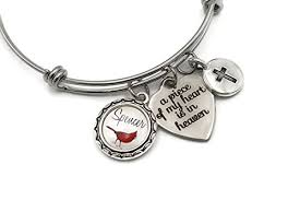 memorial bracelet remembrance cardinal