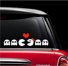 Pac Man Family Window Decal Sticker Custom Sticker Shop