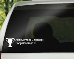 Boogaloo Ready Video Game Decal Geek Vinyl Decal Car Decal Gift Ebay