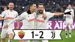 ROMA JUVE 1-2: DEMIRAL & RONALDO IN GOAL! JUVE CAMPIONE D'INVERNO ...