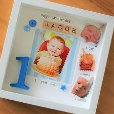birthday scrabble gift baby frame