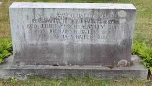 Edith Priscilla Bailey (1920-2015) - Find A Grave Memorial