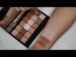 rcma makeup vk palette 11 swatches