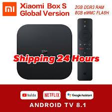 Global Original Xiaomi Mi Box S 4K HDR Android TV 8.1 Mi Boxs 2G 8G WIFI  Google Cast Netflix IPTV Set Top Mi...price: US $53.49 S… in 2020 | Android  tv, Xiaomi, Google cast
