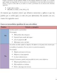 La Tilde Diacritica O Acento Diacritico 1 Pdf Descargar Libre