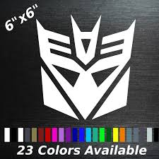 Decepticon Decal Transformers Sticker Car And 50 Similar Items