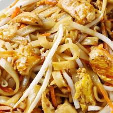 pad thai maison au poulet