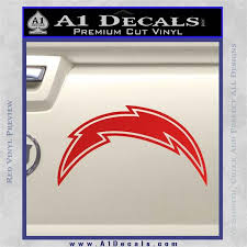 San Diego Chargers Nfl Bolt Decal Sticker A1 Decals