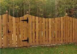 Semiprivate Concave Fence Residential Pressure Treated Wood Fence Panels Wood Fencing Installation Buffalo Ny Fence Panels Wood Fence Pressure Treated Wood