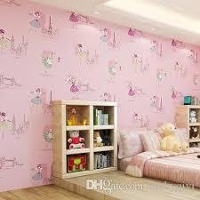 Cute Childrens Kids Room Non Woven Wallpaper Ballet Princess Room Cartoon Wallpaper Korean Pink Bedroom Boy Girl Wall Papers I Hd Wallpaper I Hd Wallpapers From Luckyqiyi 9 05 Dhgate Com