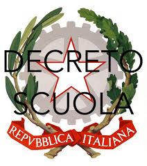 Decreto scuola: pubblicata la relazione tecnica