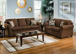 color go with a brown couch