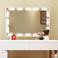 led mirror light with touch dimmer