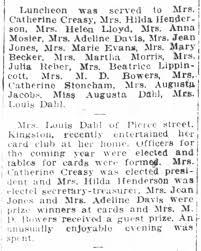 Adeline Miller Davis, Social Events, April 1926 - Newspapers.com