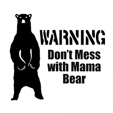 14cm 12 8cm Mama Bear Mom Mothers Kids Funny Warning Vinyl Decal Car Stickers Decorative Car Accessories Black Sliver C8 0717 Stickers Promo Sticker Tatoosticker Nissan Aliexpress