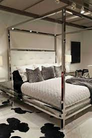 this mirrored bed frame bedroom