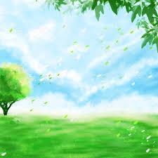 صورة خلفية الربيع صورة خلفية خضراء خضراء خلفية ربيع ديناميكية شعاع