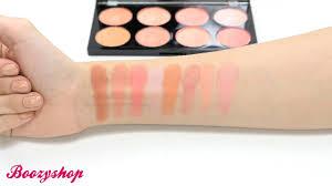 makeup revolution review blush palette
