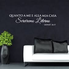 Italy Quanto A Me E Alla Mia Casa Vinyl Wall Decal Living Room Stickers Murals Home Decoration House Decoration Gw102 Sticker Wall Decal Wall Decalshouse Decoration Aliexpress