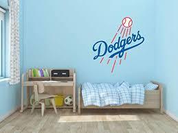 Amazon Com Baseball Team Logo Wall Decal Vinyl Sticker For Home Interior Decoration Bedroom Window Mirror Car 10 X 11 Home Kitchen