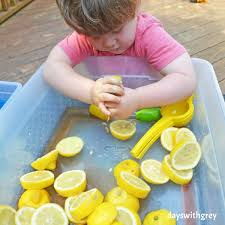 Bright and Sour Sensory Bin — Days With Grey