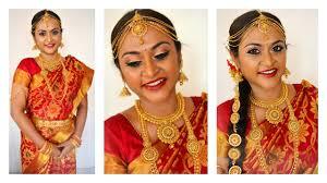 south indian tamil bridal makeup look
