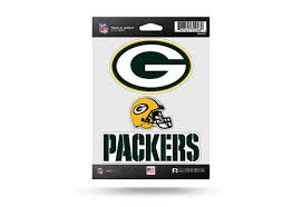 Nfl Football Green Bay Packers Window Decal Sticker Set Officially Licensed Custom Sticker Shop