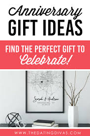 anniversary ideas and gifts from the