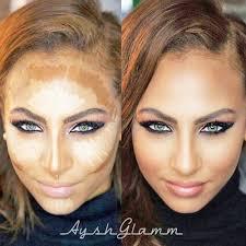 contour makeup depending on your skin tone